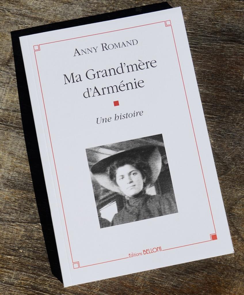 Couverture Ma grand'mère d'Arménie - Anny Romand